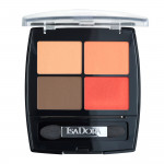 Vibrant Tangerine + Eye Shadow Quartet