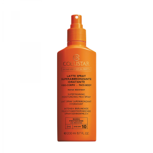 Latte Spray Superabbronzante Idratante SPF 10