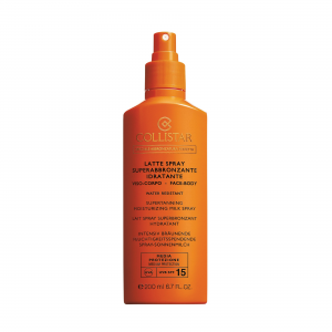 Latte Spray Superabbronzante Idratante SPF 15