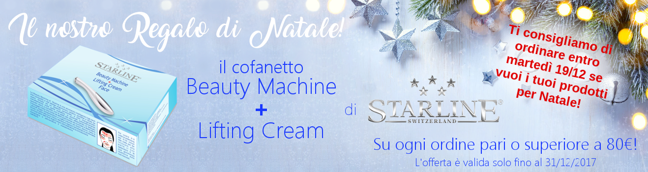 Beauty Machine + Lifting Cream IN REGALO!